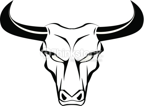 483x354 Collection Of 'bull Face Drawing' Download More Than Images