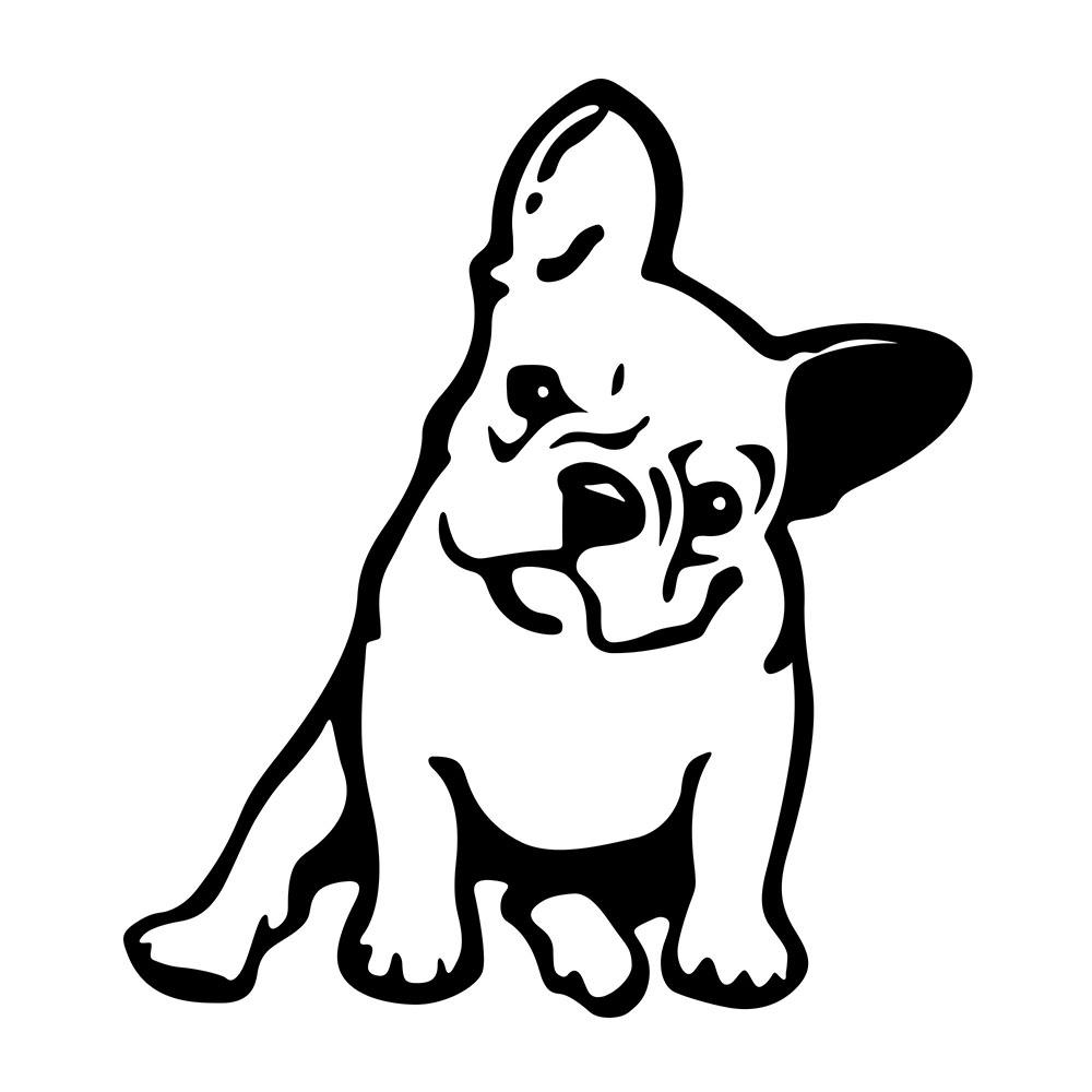 1000x1000 Bulldogs Cartoon Drawing And Cartoon Bulldog Drawing Bulldogs