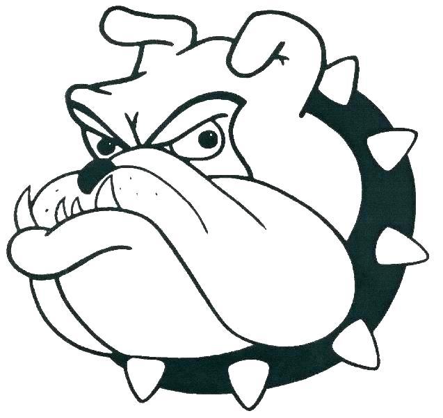 637x602 Bulldogs To Draw Bulldogs Bulldogs Easy Drawing