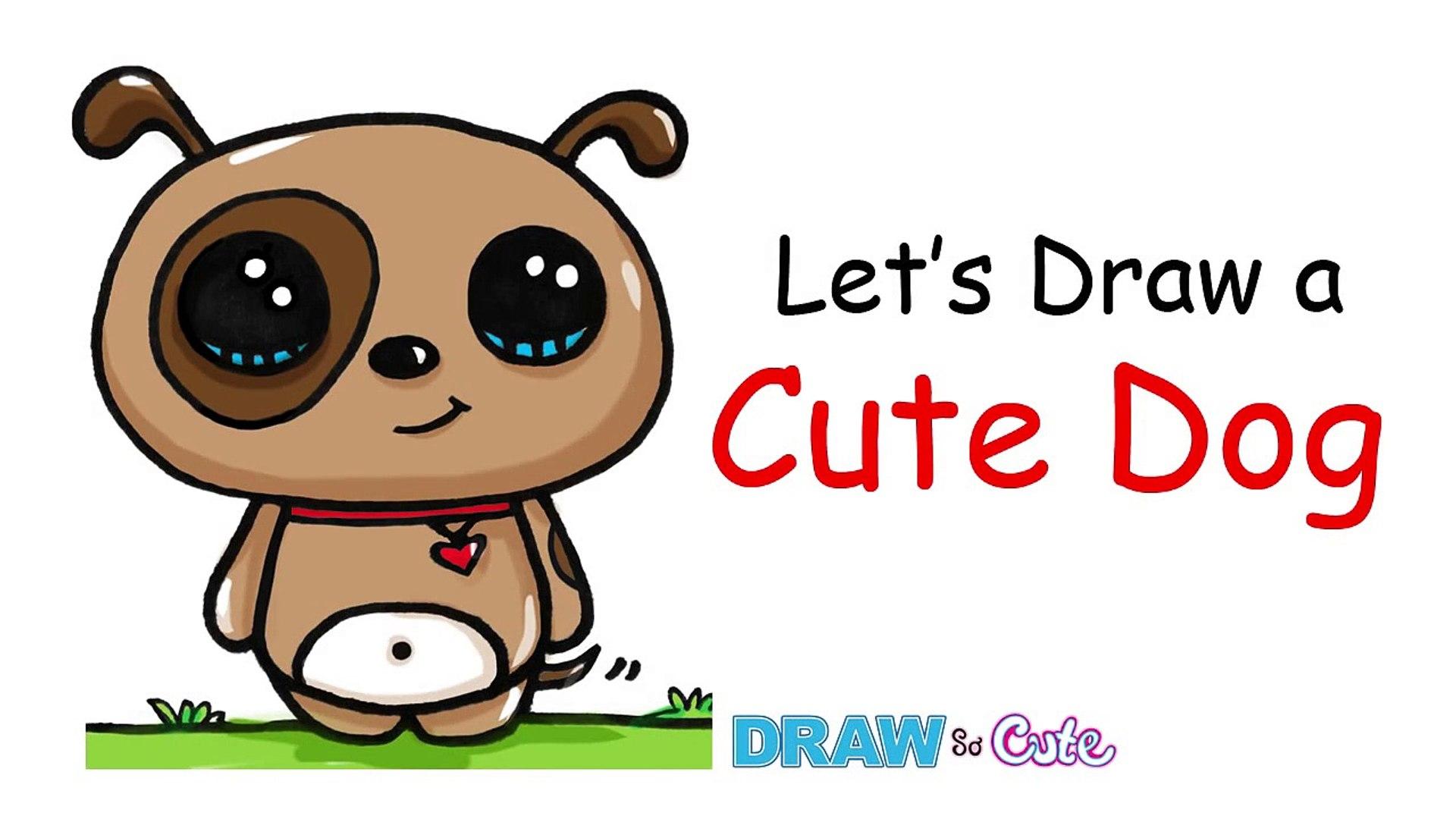 1920x1080 Cute Dog Drawings Tumblr Bulldog And Easy Baby Little Christmas