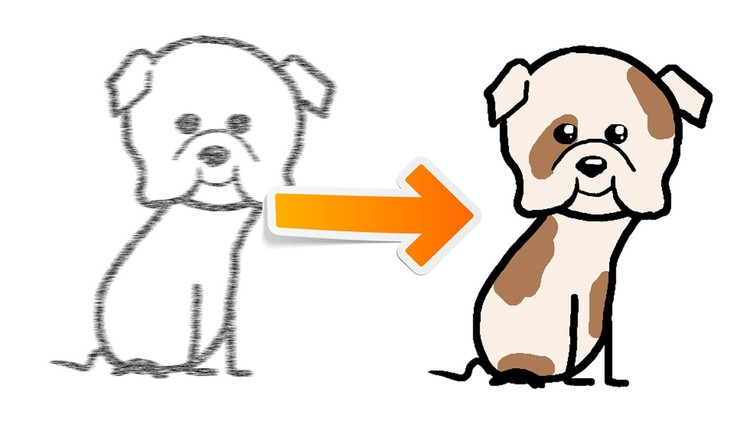 750x422 How To Draw Cute Cartoon Character In Minutes Udemy