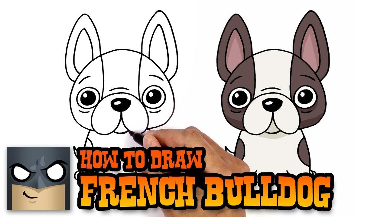 1280x720 How To Draw French Bulldog Art Tutorial