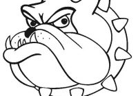 200x140 Pictures Of Cartoon Bulldogs Bulldog Cartoon Drawing Georgia