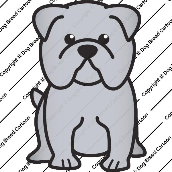 600x600 Bulldog, Drawing, Sketch, Transparent Png Image Clipart Free