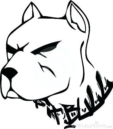 393x450 Bulldog Face Drawing Clip Art Bulldog Cartoon Face Vector Search