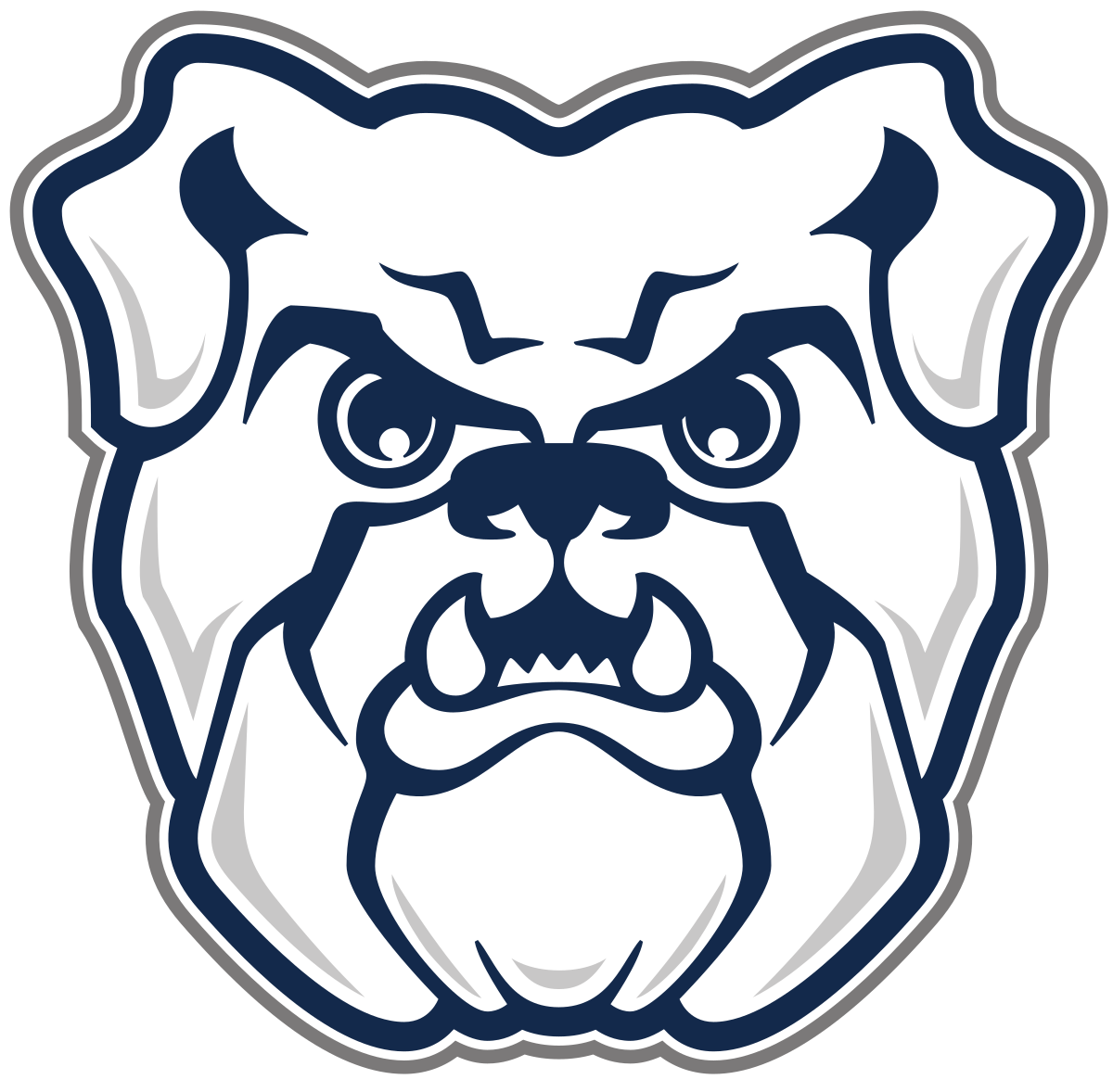 1200x1178 drawing bulldogs butler high school transparent png clipart free