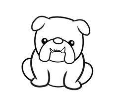236x203 adorable bulldog drawing designs bulldog tattoo, bulldog