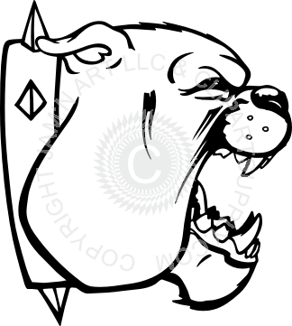 324x361 Collection Of Free Bulldog Drawing Mouth Download On Ui Ex