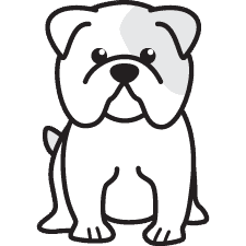 225x225 Drawing Bulldogs Easy Transparent Png Clipart Free Download