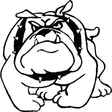 377x375 Free Bulldog Clipart St Drawing Clip Art Bulldog Download Free