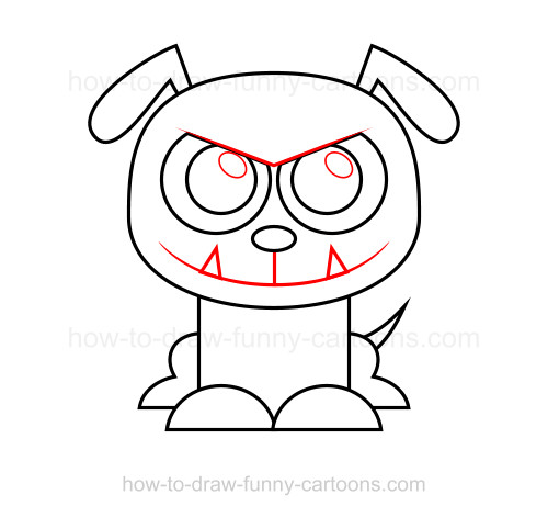 500x471 How To Draw A Bulldog