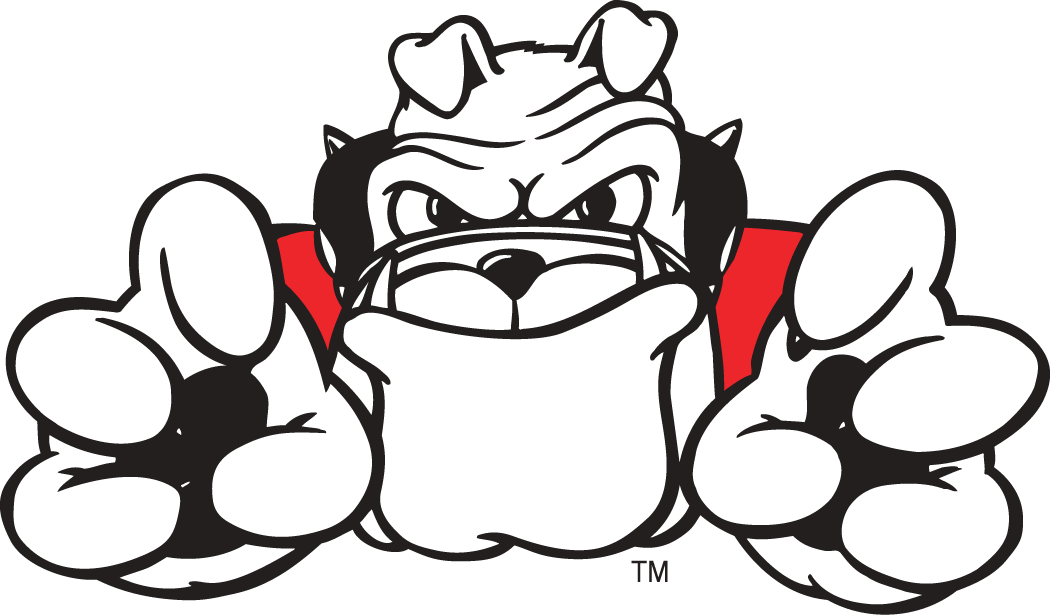 1050x615 Georgia Bulldog Clipart Football Bulldog Drawing Georgia Bulldogs