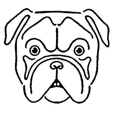 398x400 how to draw bulldog bulldog draw bulldog cartoon
