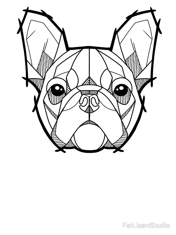 600x800 the french bulldog sticker drawings french bulldog drawing