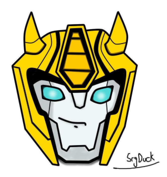 673x711 Transformers Cyberverse Bumblebee Head