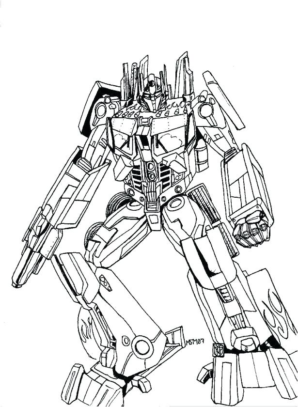 615x840 Bumble Bee Transformer Coloring