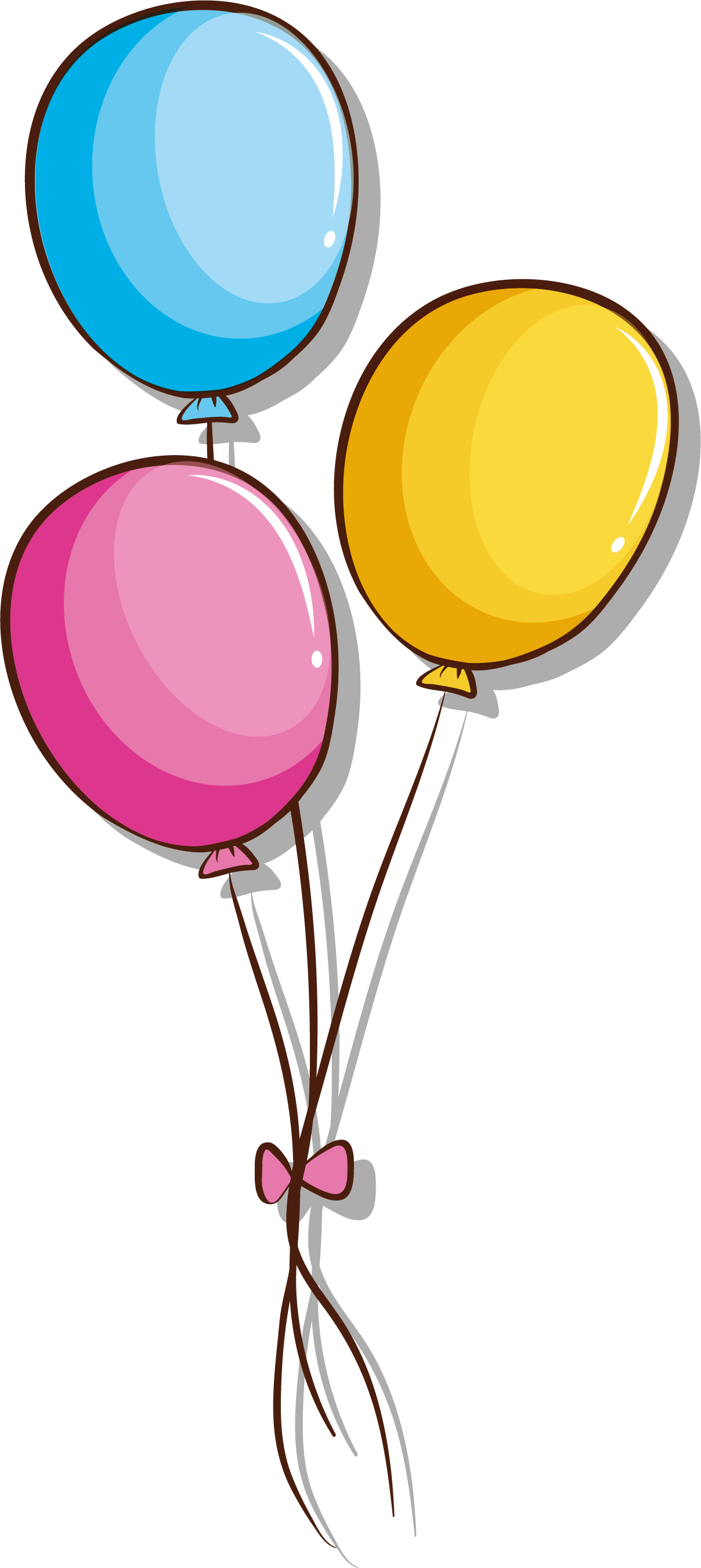 1208x2701 Collection Of Free Balloons Drawing Bunch Balloon Download On Ui Ex