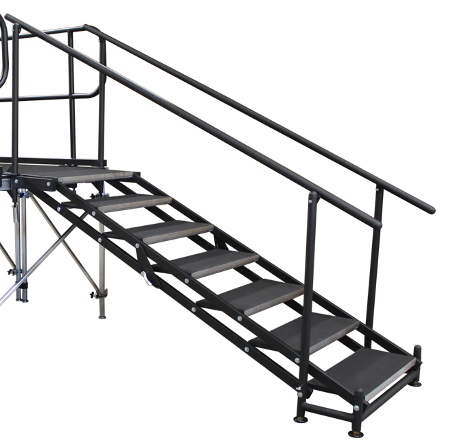 657x651 Bunk Bed Stairs