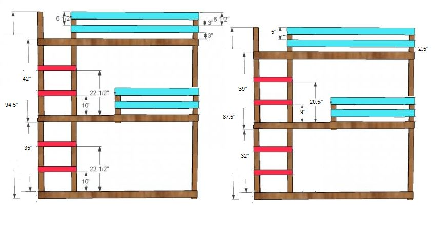 858x438 Bunk Bed Plans Tommy Work Ideas In Bunk Beds