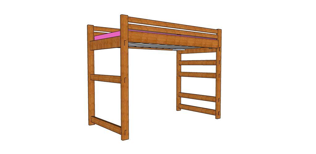 1024x499 Loft Bed Steps