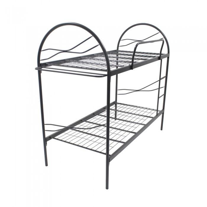 700x700 powder coat metal double decker bunk metal bed frame