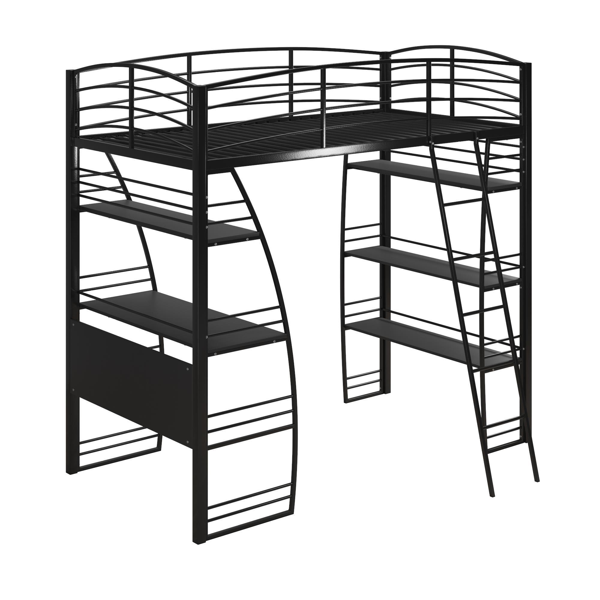 2000x2000 Shop Avenue Greene Sansa Twin Loft Bed With Integrated Desk
