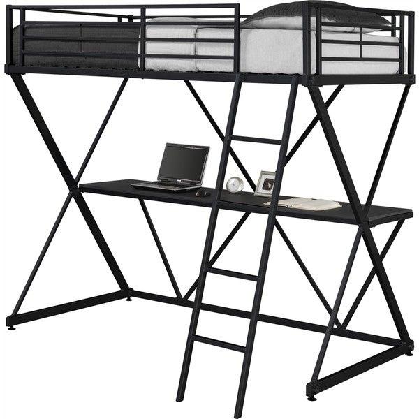 600x600 Shop Dhp X Loft Metal Bunk Bed