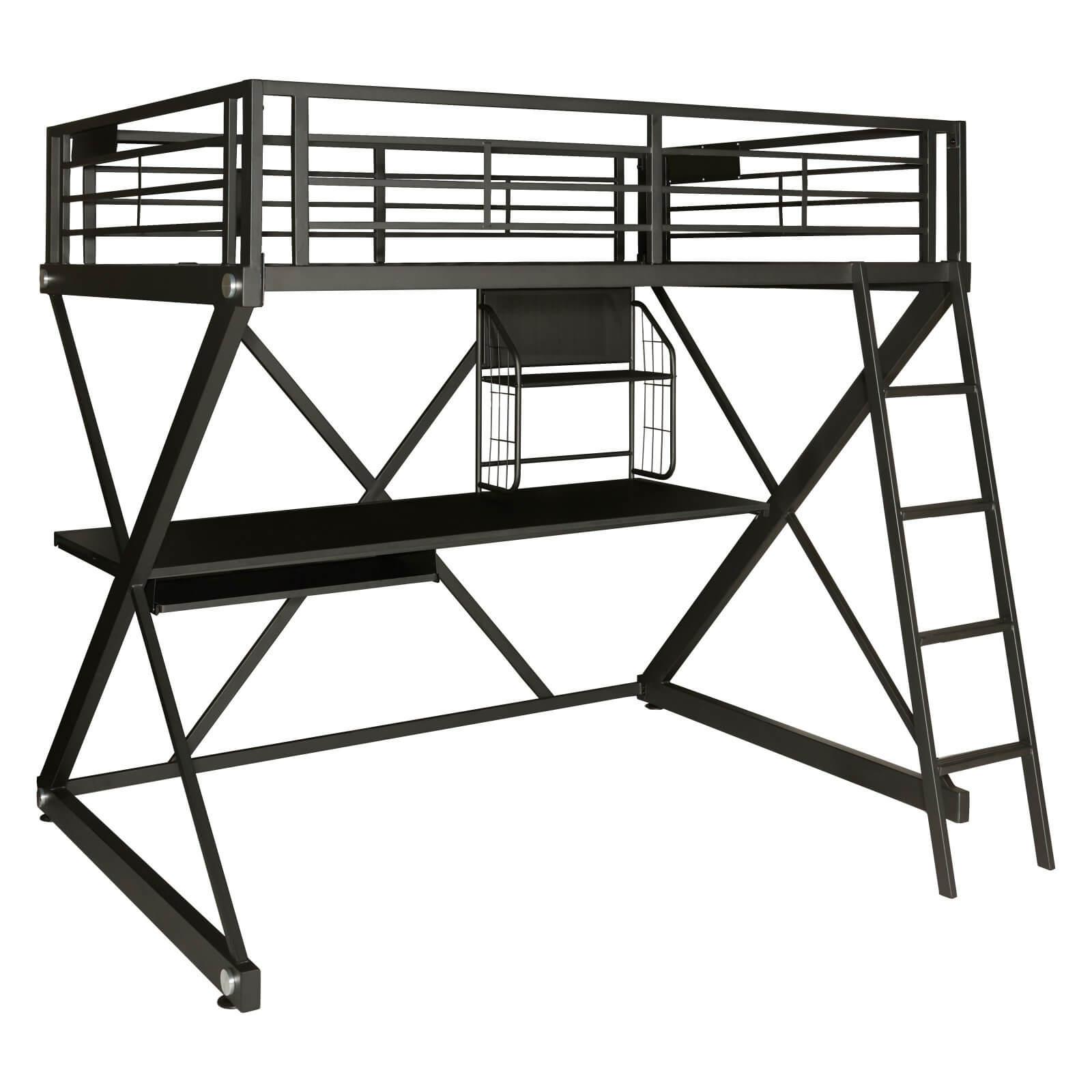 1600x1600 Z Bedroom Full Size Study Loft Bunk Bed Furnishings Warehouse