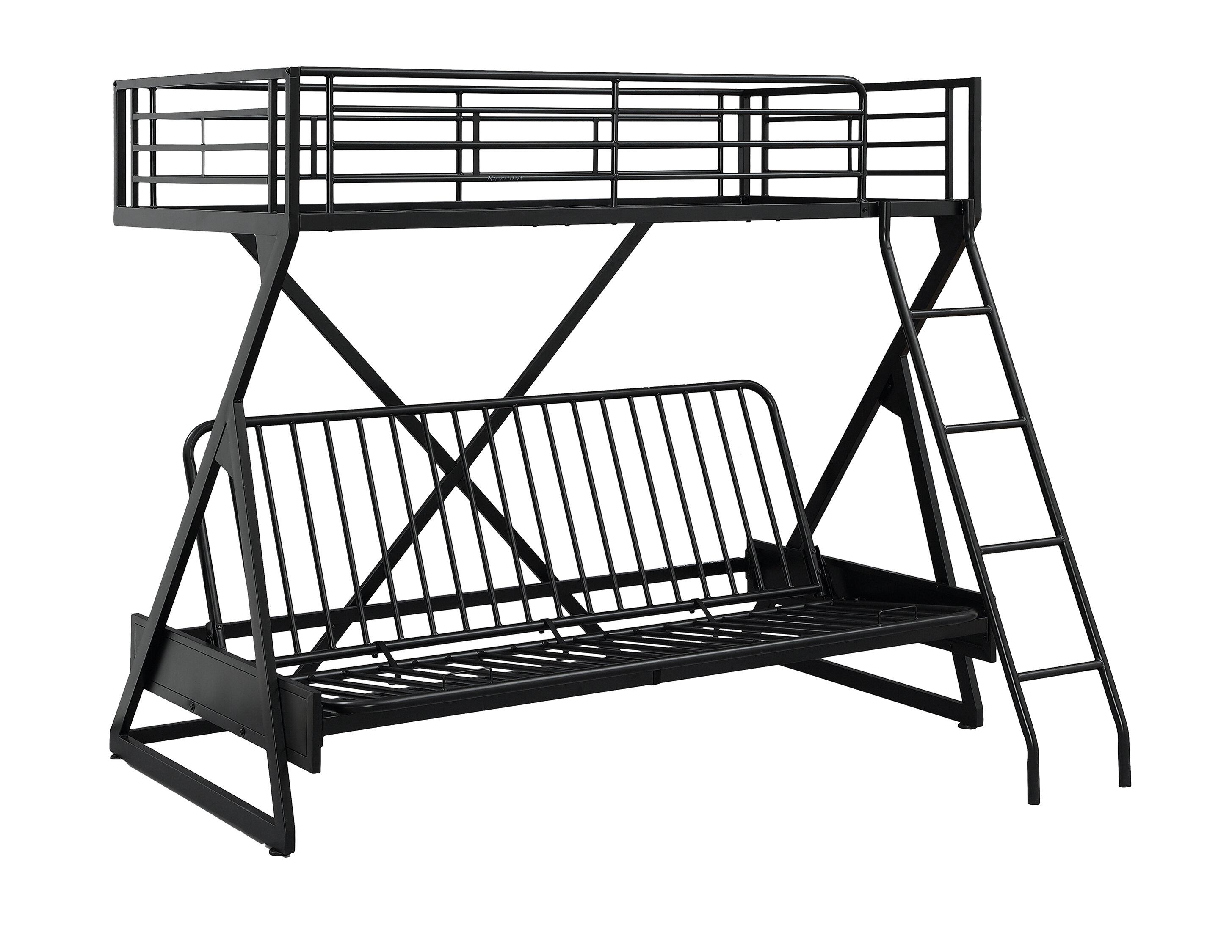 2910x2250 Zoomie Kids Petrey Twin Over Full Futon Bunk Bed Wayfair