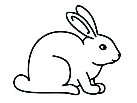 474x355 easy to draw bunny easy to draw bunny easy draw easter bunny