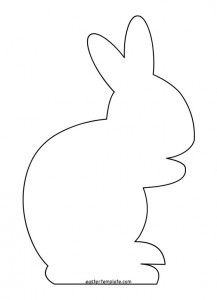 217x300 best easter bunny template images easter bunny, happy easter