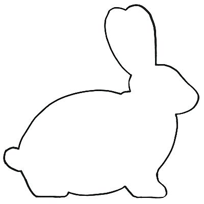 400x401 easter bunny outline bunny rabbit outline bunny outline bunny