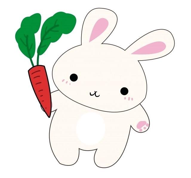 640x597 drawn bunny hand drawn bunny an cute bunny rabbit drawing