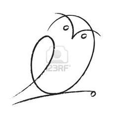 Burrowing Owl Drawing