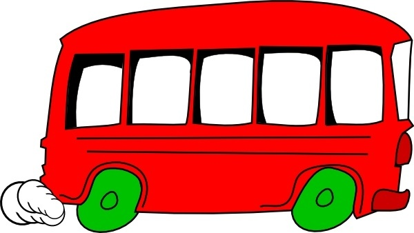 600x338 School Bus Drawing Free Vector Download