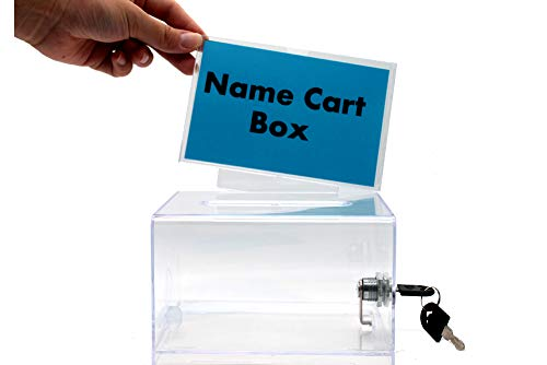 500x334 mingming acrylic donation ballot box with lock adviceusiness
