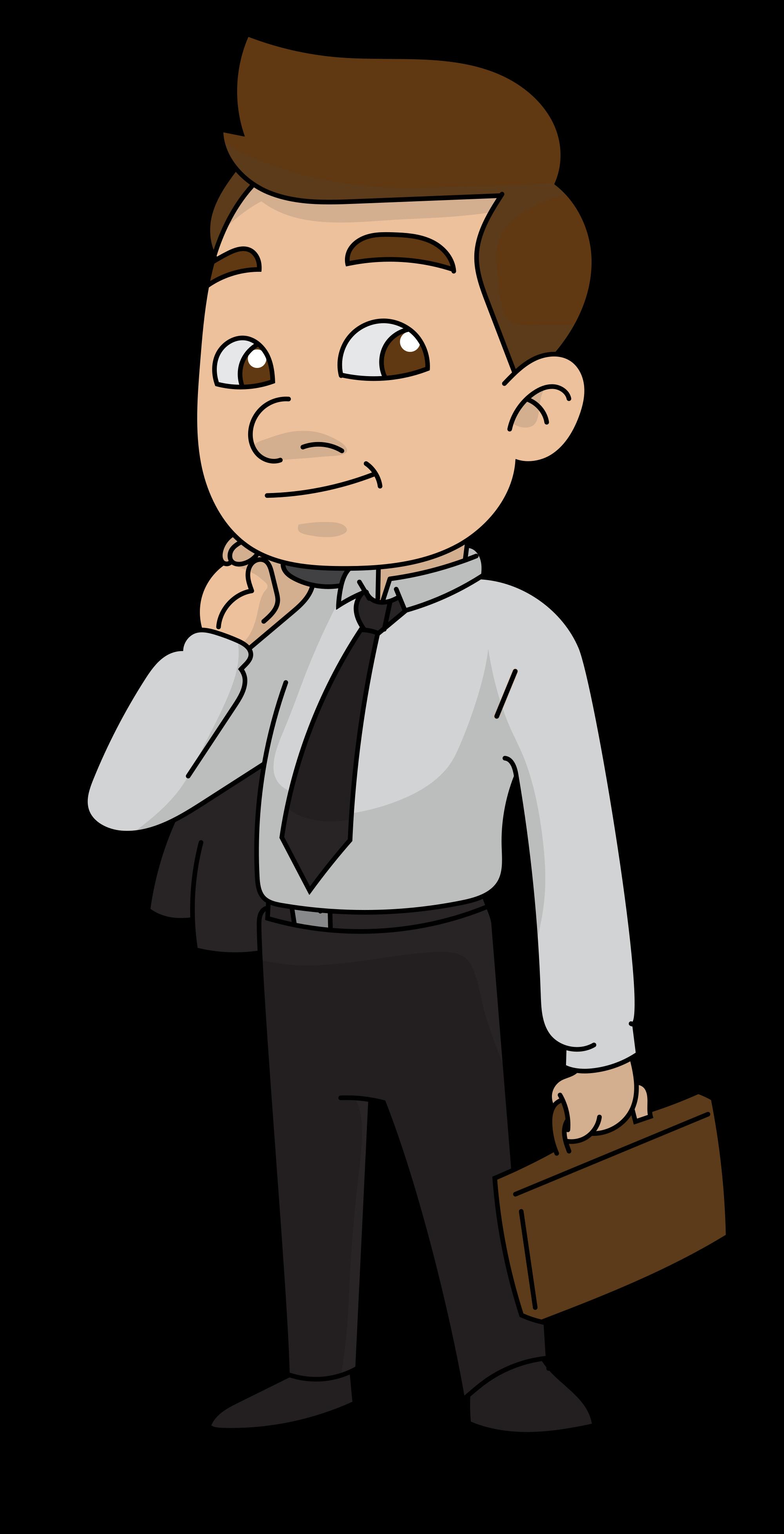 2000x3911 Lawyer Drawing Businessman Cartoon Huge Freebie! Download