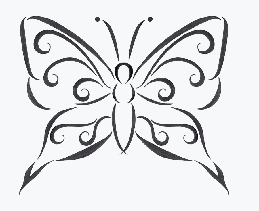 900x734 Butterfly Line Drawing Tattoos Ideas And Designs