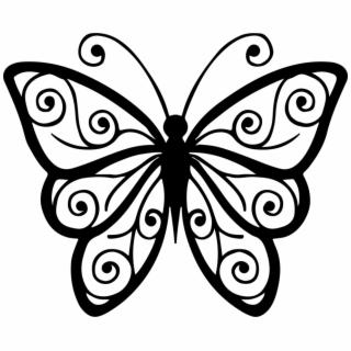 320x320 Hd Clipart Butterfly