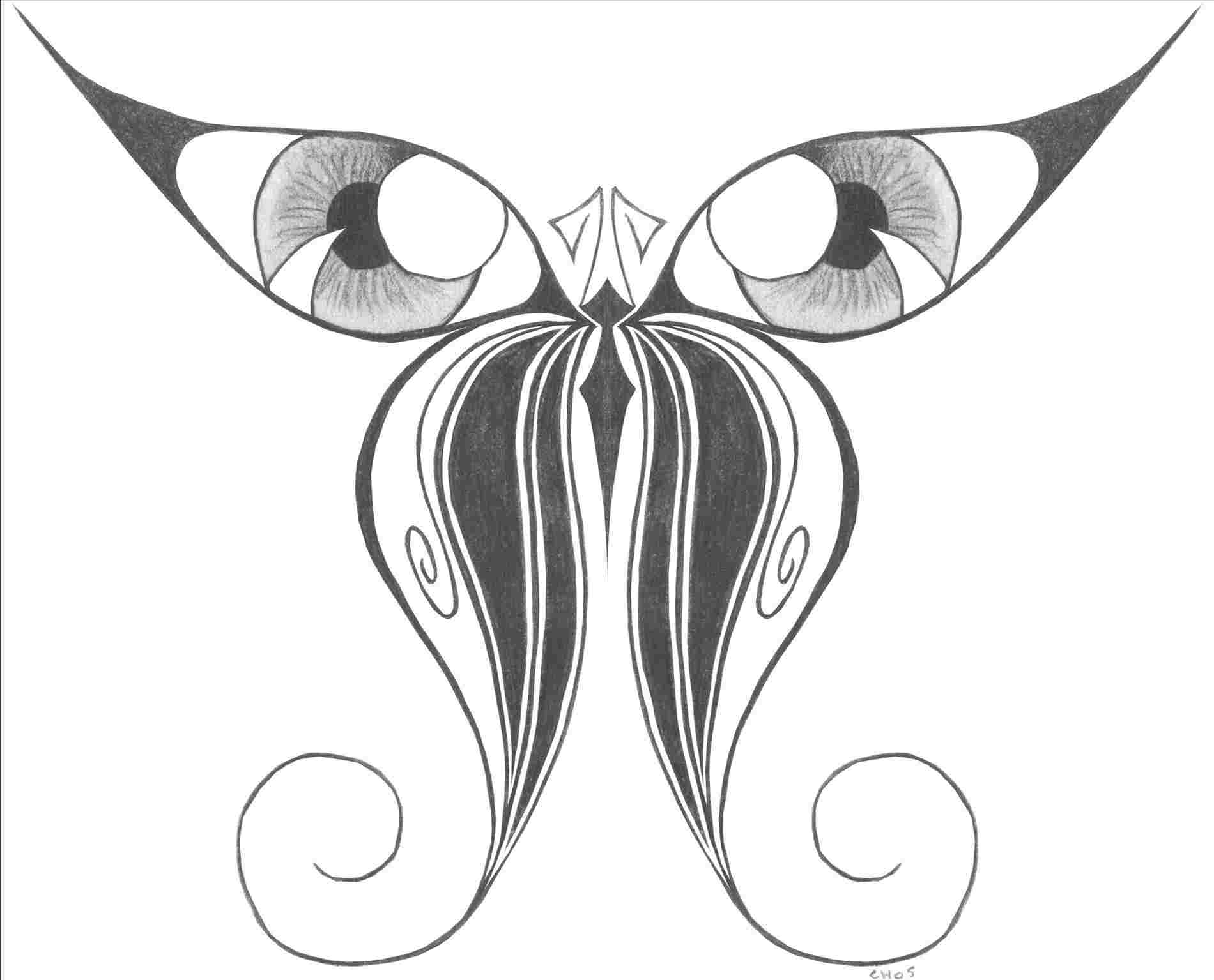 1900x1535 Easy Butterfly Drawings With Color