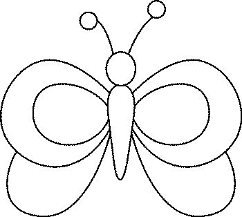 350x314 How To Draw Butterflies For Kids