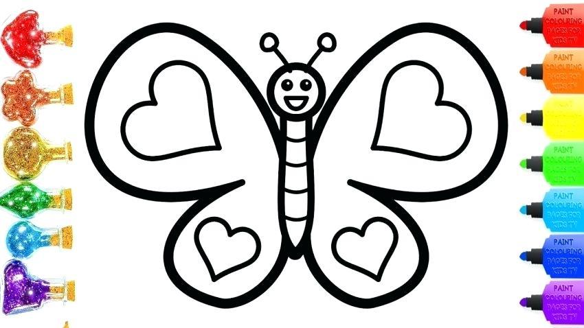 850x478 Drawing Butterflies For Kids Nip