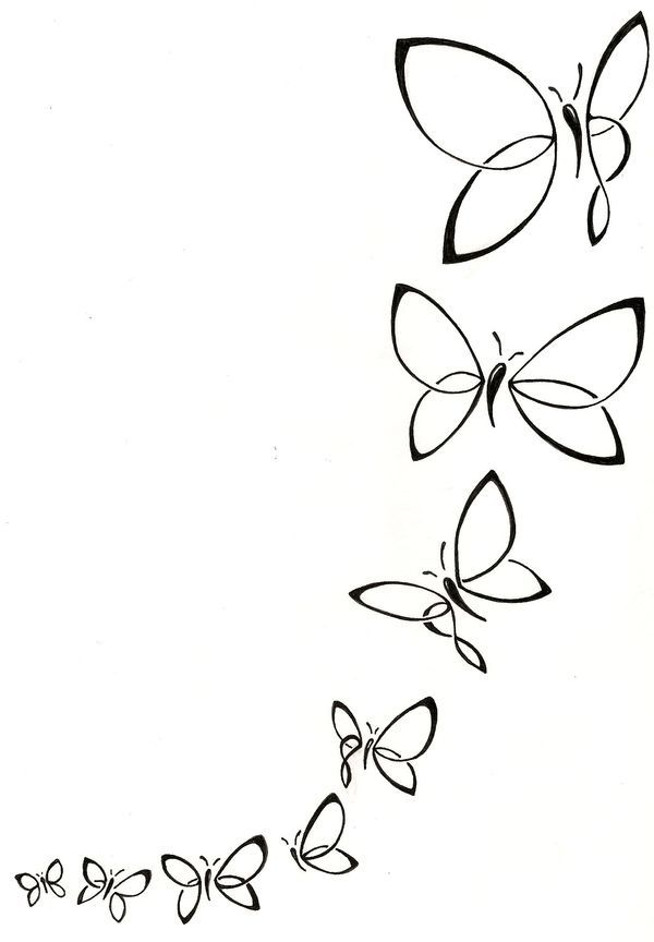 Butterfly Drawing Ideas