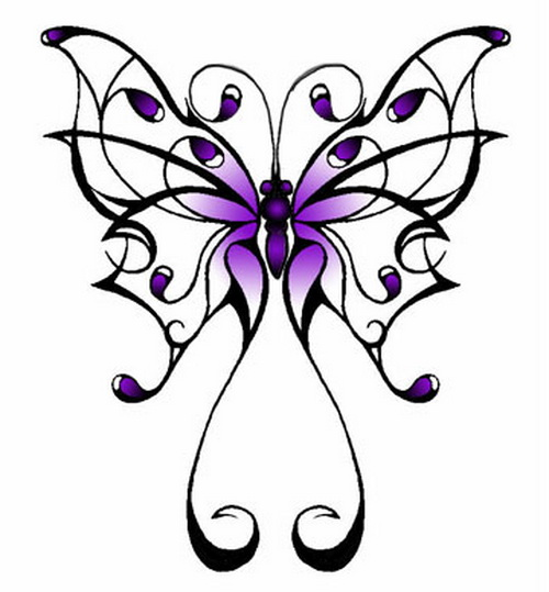 500x539 butterfly tattoo clipart butterfly drawing ideas butterfly