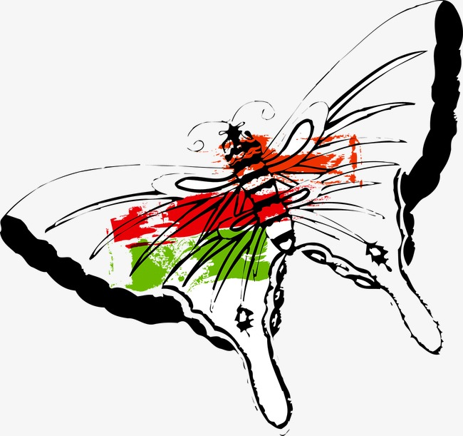 650x611 drawing butterfly, butterfly clipart, watercolor, butterfly png