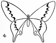 Butterfly Drawing Step By Step