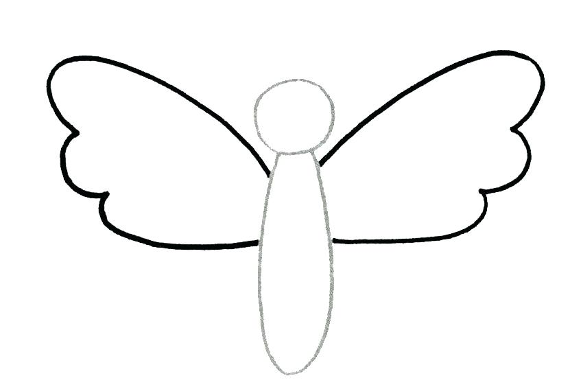 850x567 steps to draw butterfly easy steps to draw a beautiful butterfly