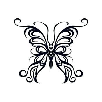 350x350 butterfly outline butterfly butterflies butterfly tattoo templates