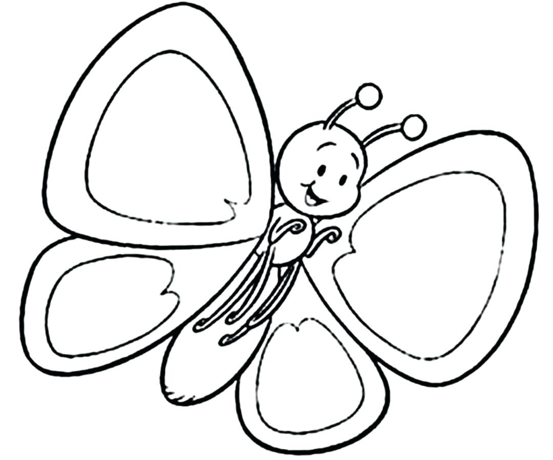 1080x898 Coloring Pages Butterfly