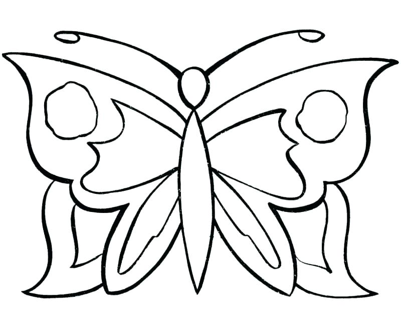 800x653 Coloring Pages Cute Printable Butterfly Coloring Pages Of Life